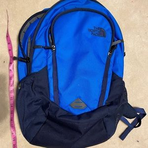 Blue North Face Backpack